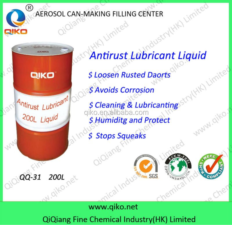 Anti Rust Lubricant Liquid QQ-31