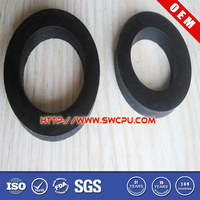Durable flat ring silicone flat rubber roof gasket