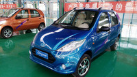 2015 High quality cheaper car EEC certificate approved small electric cars for sale with lithium battery made in china