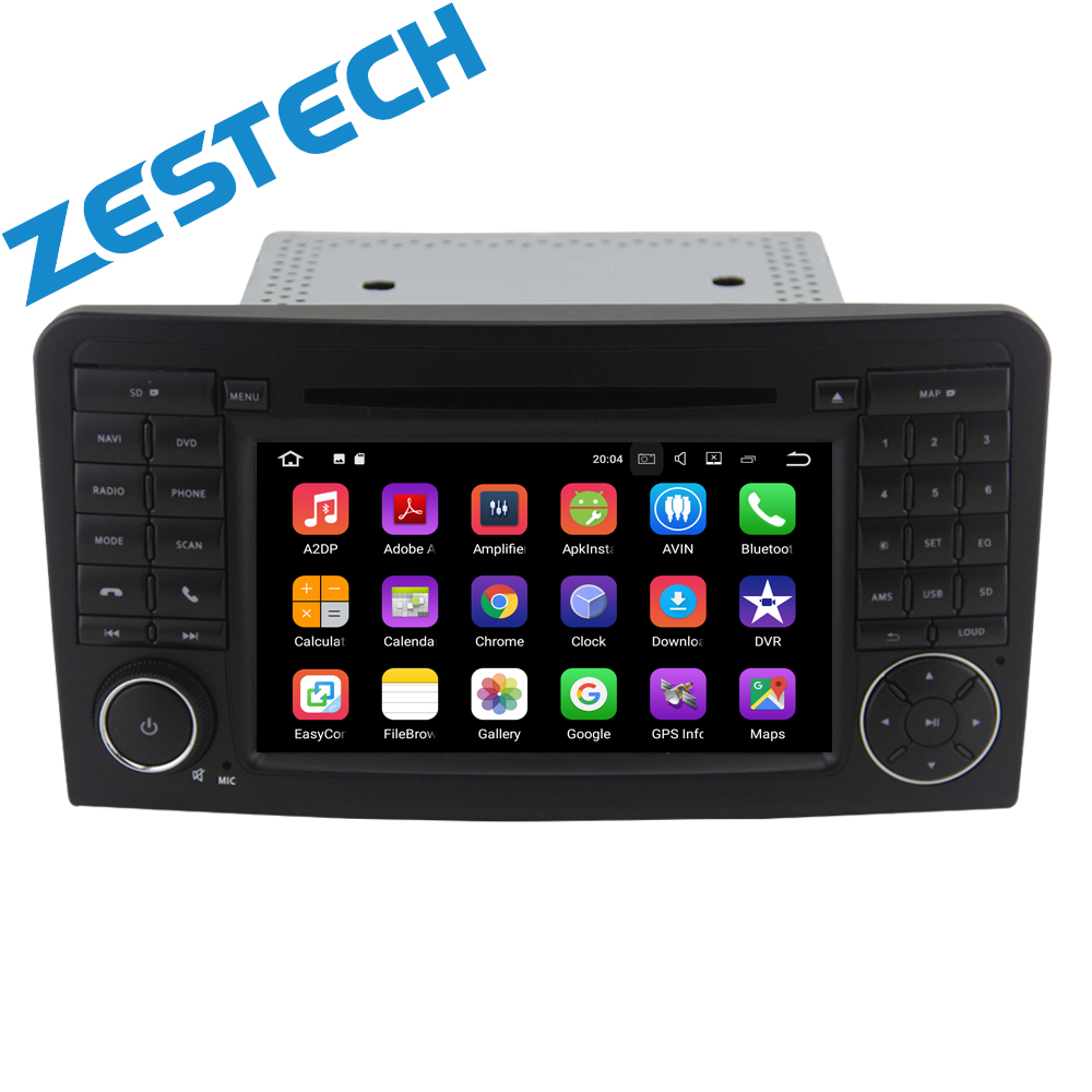 Two Din 7 Inch Car DVD Player For <strong>Mercedes</strong>/Benz/GL ML CLASS <strong>W164</strong> X164 ML350 ML450 ML500 GL320 GL450 Radio GPS iPod Map