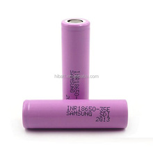 High capacity power battery sumsung 18650 35e 3500mAh 12.6Wh in stock INR18650-35e current 10-15A