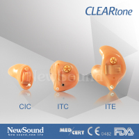 Digital Hearing Aid CIC Customized audio faceplate