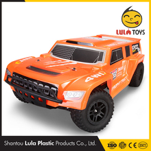 50km/h Remote Car Toys 4WD 2.4G Electric RC Short Course RTR High-Speed Remote Control Car Toys Truck Buggy Iwaver RC Car 1/10