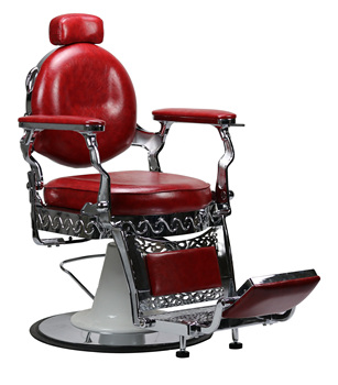 DTY antique Wholesale Hydraulic Barber Chair Salon Furniture Red Hair Equipment Men's