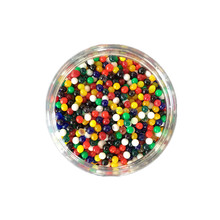 Wholesale Toy Expandable Ball clay soil for sale 12 color Crystal Soil jell Water Beads hydrogel for plants