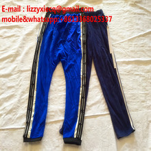 Men sport pants used first grade quality second hand clothing