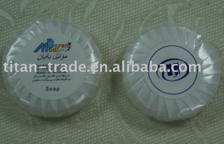 pure vegetable oil hotel round soap DT-S918
