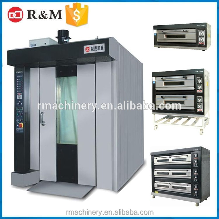R&M Newly Designed Hot Air Oven Baking Equipment Bakery Machines