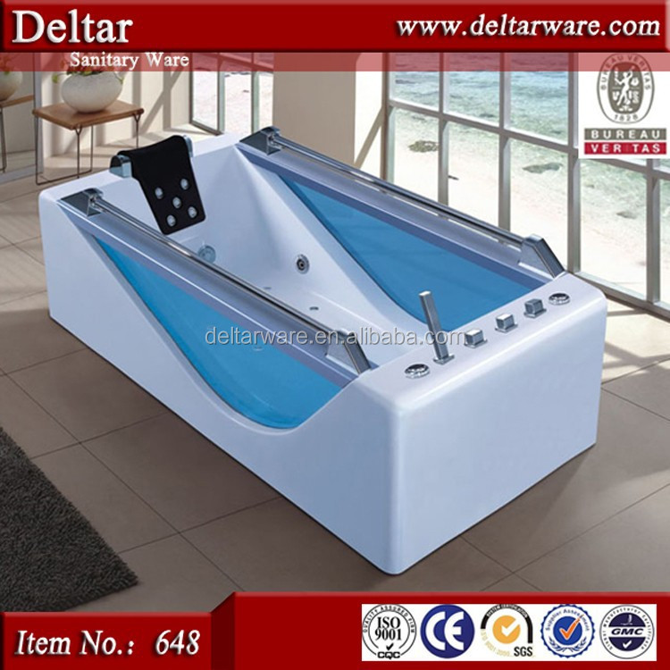 Luxuries outdoor whirlpool bath ,massage bathtub with fiber glass
