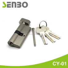 High quality brass/iron normal / computer keys door cylinder lock