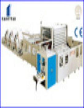 full automatic tissue paper facial packet machine folding type facial tissue machine