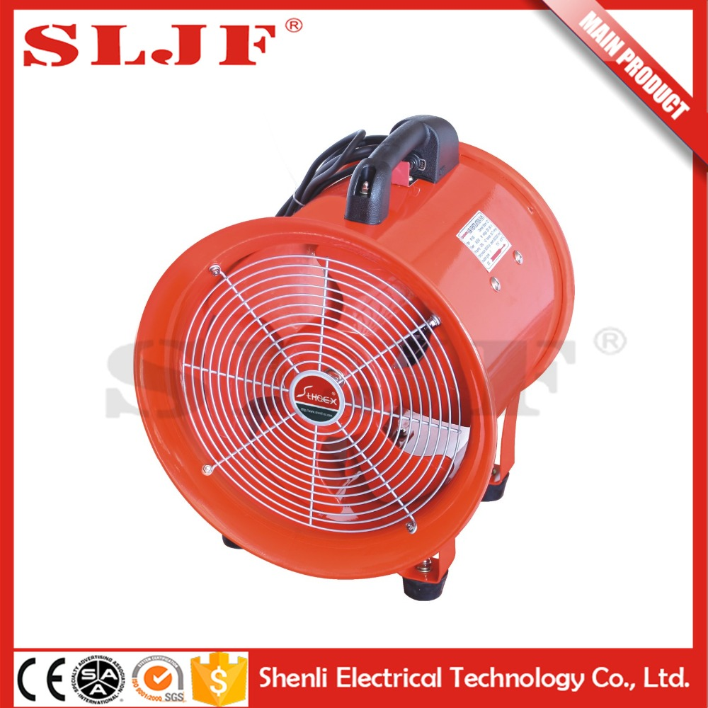 "8""-24"" industiral Portable blower ventilating small turbine axial fan explosion proof"
