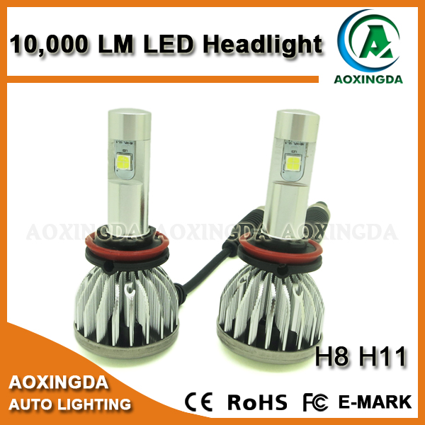H8 CANBUS 10000LM LED headlight