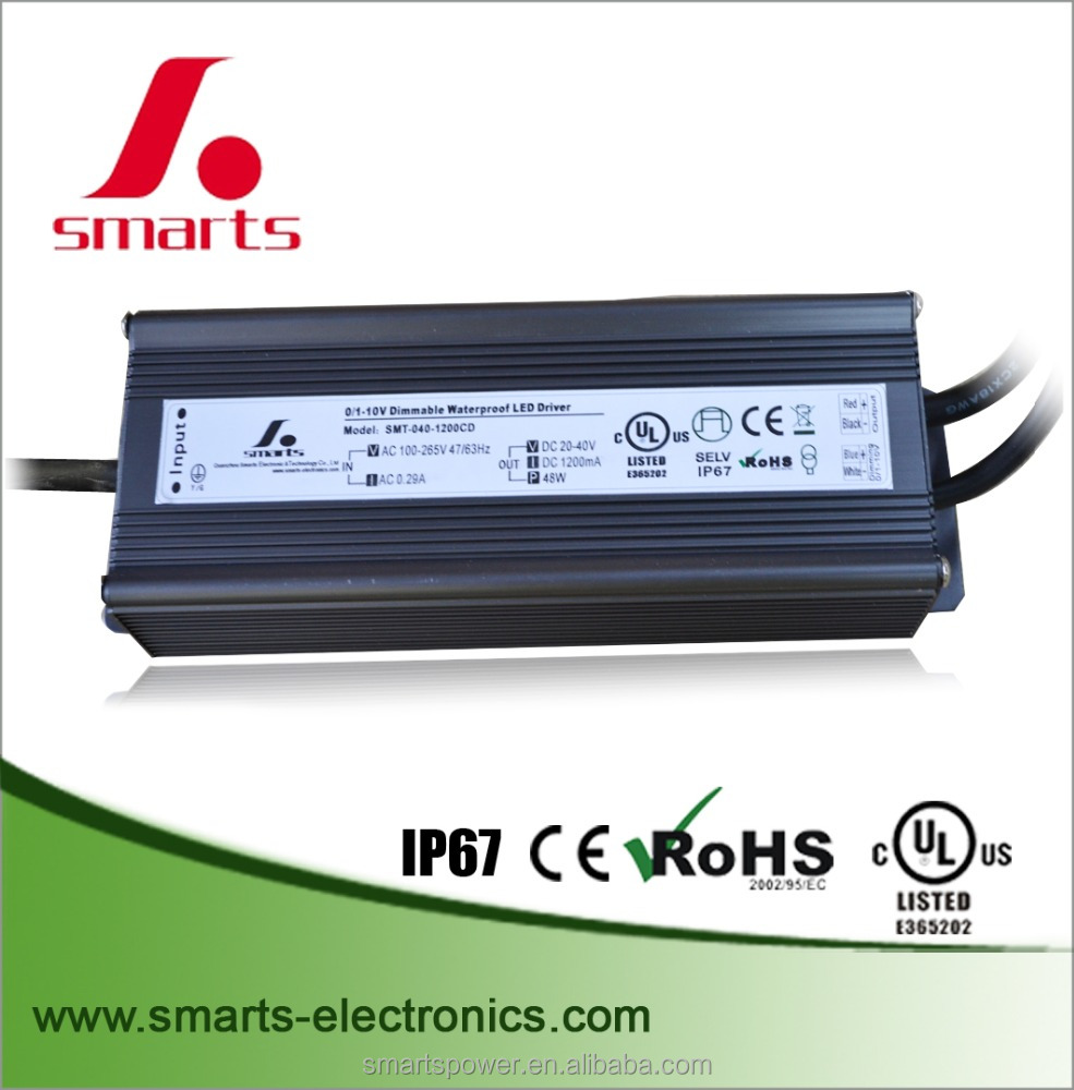 power supply unit waterproof led drivers ip67 rohs approval