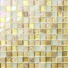 ceramic different types of cheap artificial ivory mosaic floor tiles