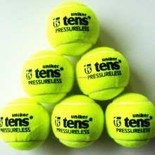 hot selling high quality ITF quality Pressureless tennis balls