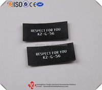 Cheap Custom Apparel Decorative Printed Faux Leather Patch/Label