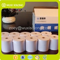 "3 1/8"" x 230' Thermal Cash Register POS Paper Roll Tape - 50 / Case"