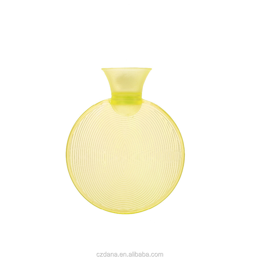 Discount price small round hot water bottle images from China