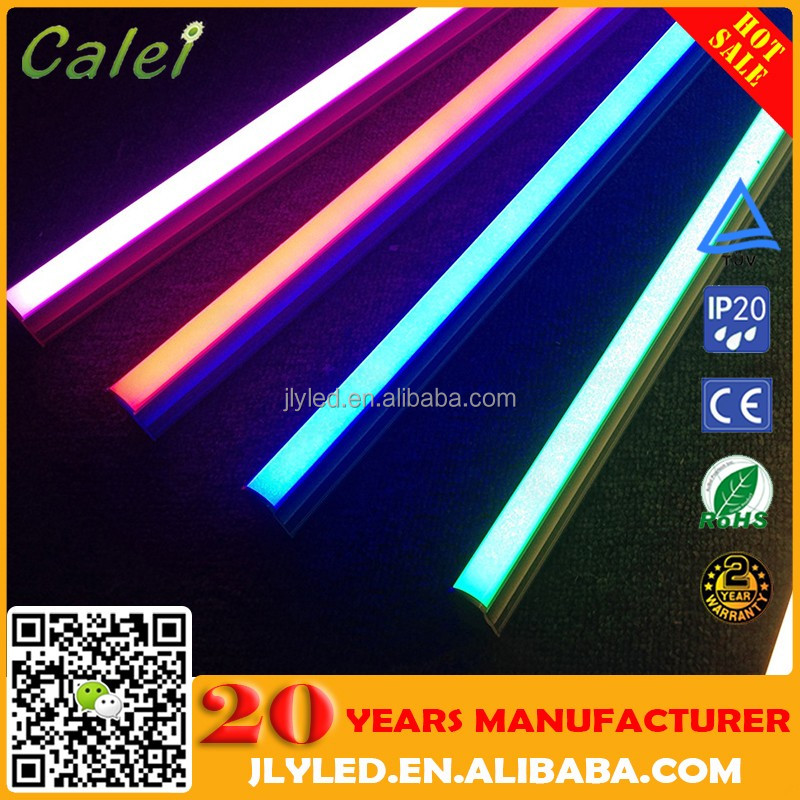 Wholesale best price 5 ft 1500mm rgb changing color t8 led tube light