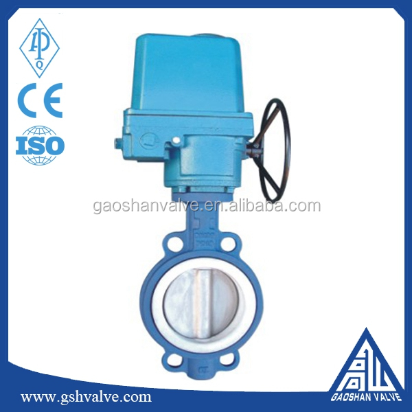 Motorized Wafer Type Butterfly Valves DN250