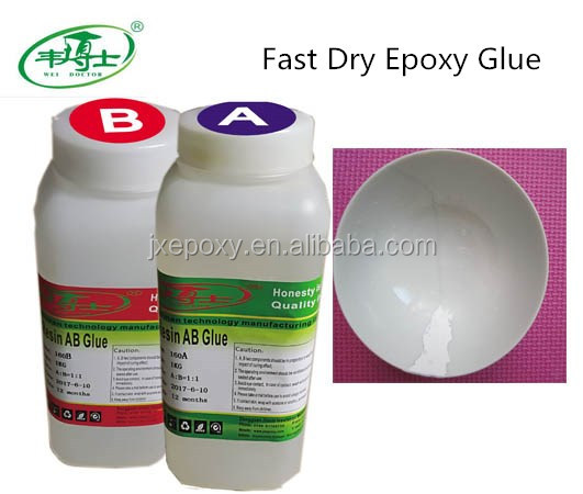 High Quality 5 Minutes Quick Cured Epoxy Resin AB Adhesive Glue For Ceramics And Metals