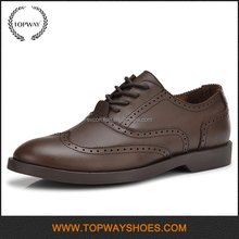 Name brand casual high class mens genuine men leather dress shoes