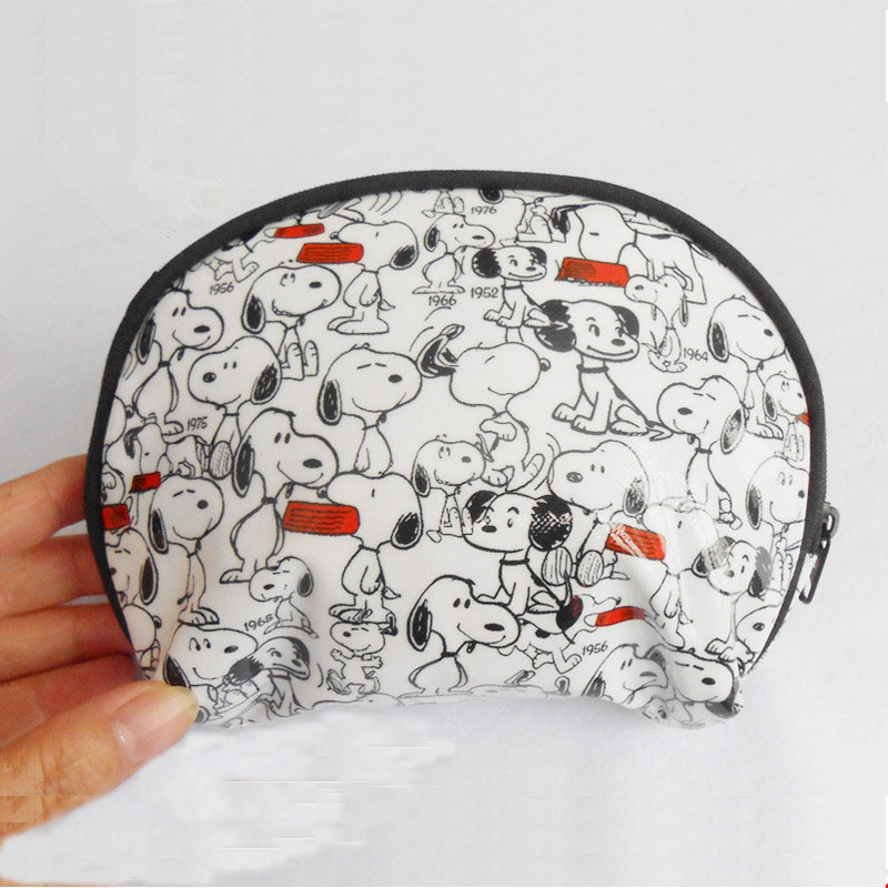 Animal PVC waterproof cosmetic bag with zipper