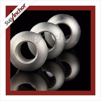 SupAnchor Sleeve Anchors Nuts machined steel inside R51 sphere domed head hex nut