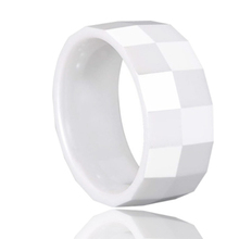 Faceted ceramic ring fashion ceramic jewellery,new design ladies finger ring