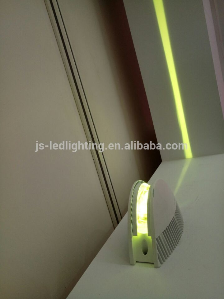 Newest 360 degree RGB wall ceiling led window light for architecture decorating