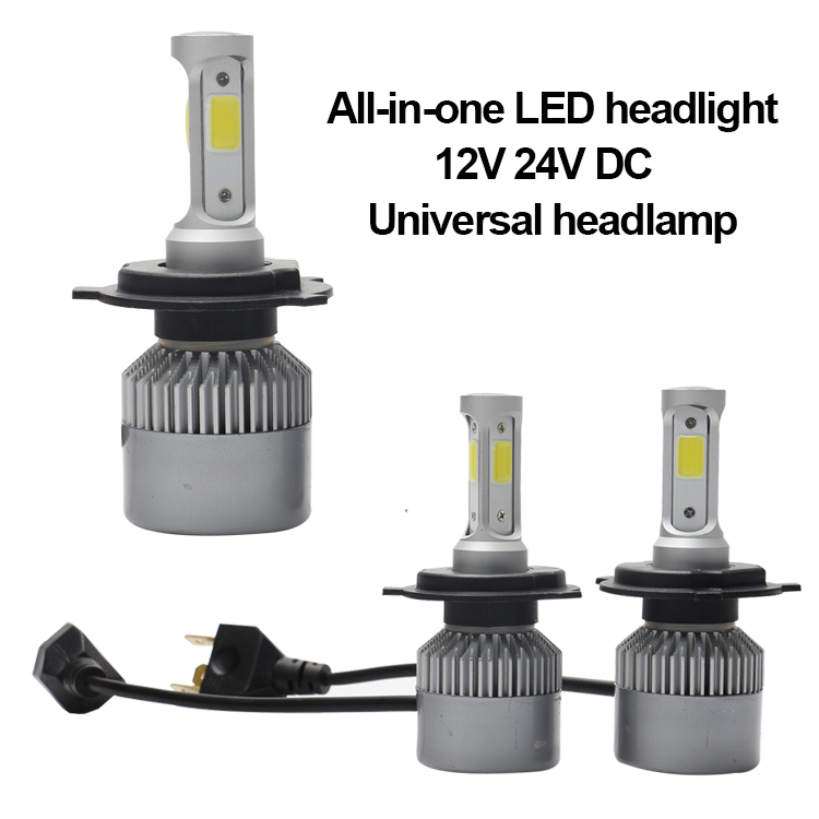 New arrive auto led headlights 80W 9000 lumens H1 H3 H7 H10 H11 H13 9006 9005 car h4 led lights