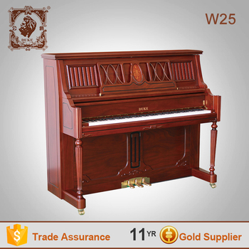 Duke professional wooden piano keyboard musical instrument W25