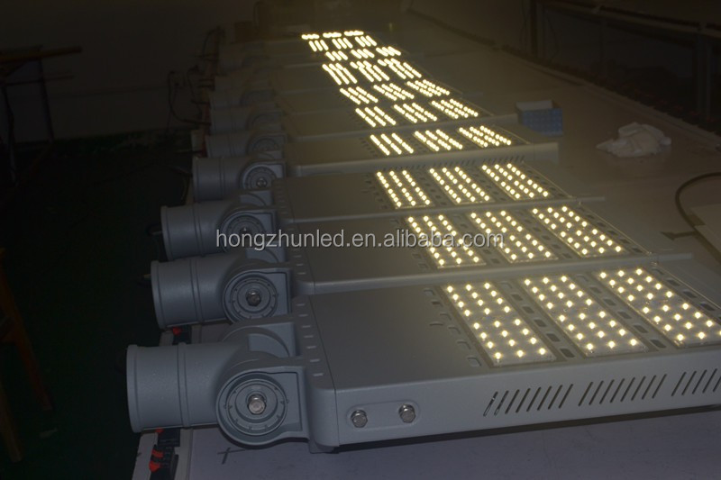 led street light use for industrial zone waterproof adjustable 200watt ip65 led street light