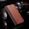 New Soft Wood PU Leather Flip