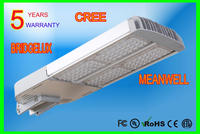 LED street lights MeanWell driver 5 years warranty CE ROHS UL CSA