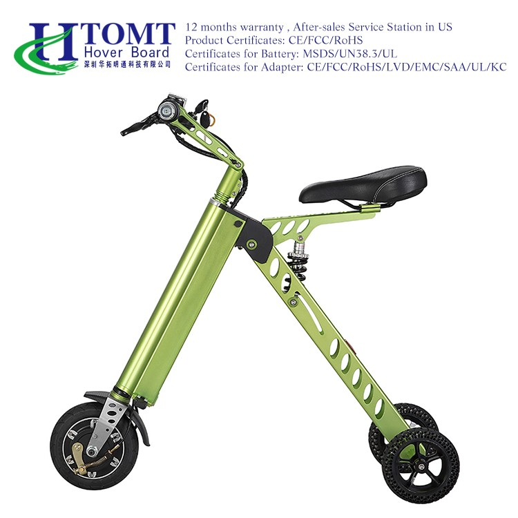 Factory Price Folding Bike Three Wheel Self Balancing Electric 2 Seat Mobility Scooter