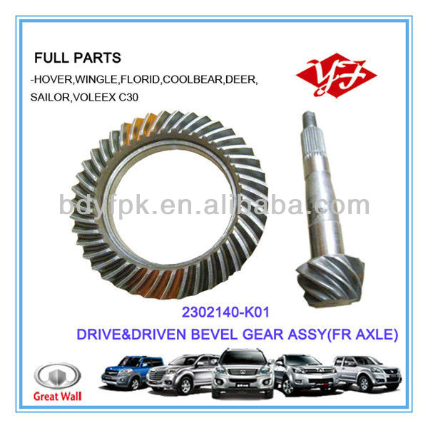 2302140-K01 Great Wall Hover Drive Pinion Gear