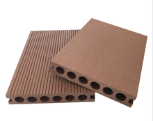 Easy installing outdoor China wood plastic composite decking / wpc decking boards