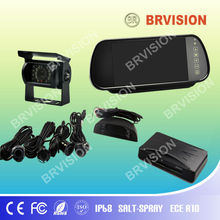 led parking sensor system car reverse backup radar IP68 camera