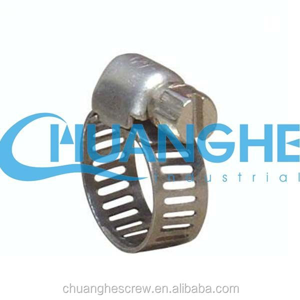 sus german type safety hose clamp