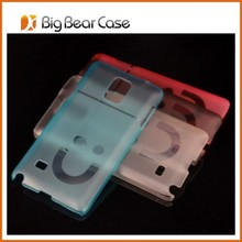 Smile face clear mobile phone case for Samsung Galaxy Note 3 N9000