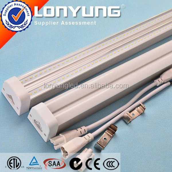 Linear T5 LED Integrative Double Tube 1-8ft 8-60w aquarium sunsun t5 ETL DLC TUV SAA