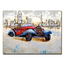 Hot selling hand-painted wall art abstract painting canvas art for home decoration