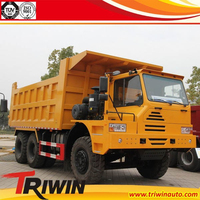 6x4 10 wheeler 25m3 30m3 35m3 40m3 375HP euro2 40 ton 60 ton dump truck for mining mine trucks