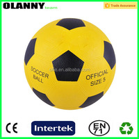 different sizes best supplier OEM rubber football