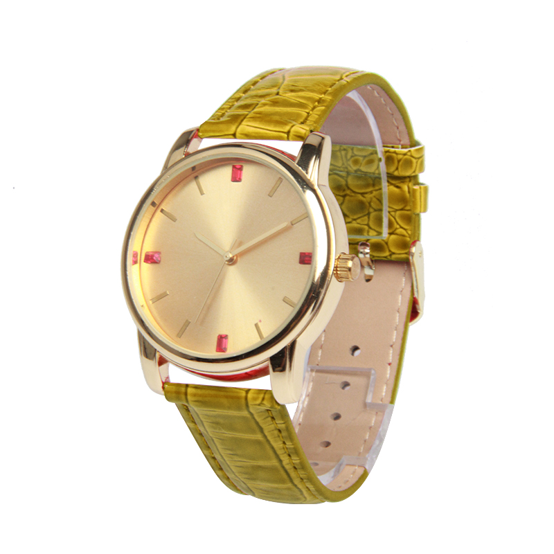 Fashion New Style Alloy Lady Waterproof More Time Watches