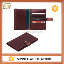 PU Leather Shield Wallet RFID Blocking Passport Cover