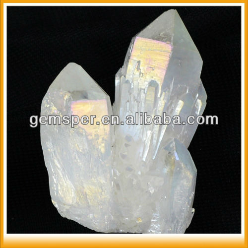 D060414 Rough Quartz Crystal Angel Aura