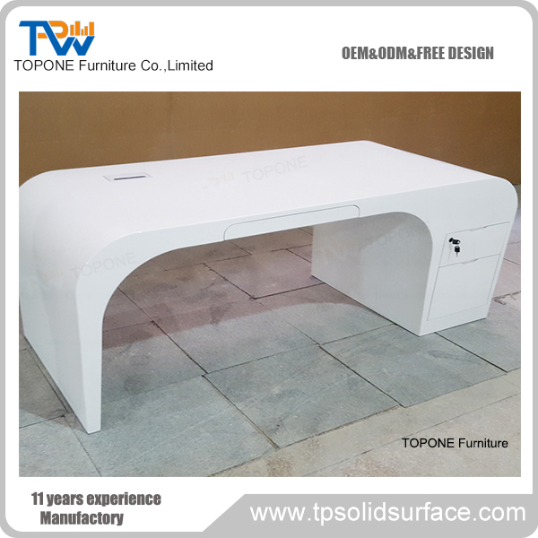 china factory supply top grade marble mini office desk